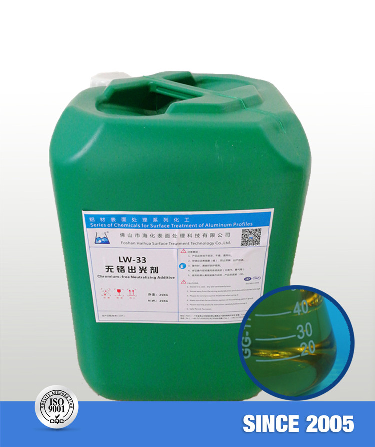 LW-33 Chromium-free Neutralizing Additive (Liquid)